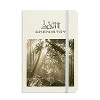 自然風景森林科学の緑の光 化学手帳クラシックジャーナル日記A 5