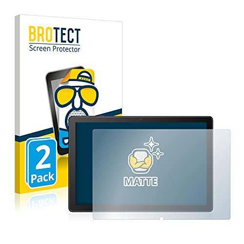 BROTECT 2X Entspiegelungs-Schutzfolie kompatibel mit Alcatel 1T 8092 Displayschutz-Folie Matt, Anti-Reflex, Anti-Fingerprint