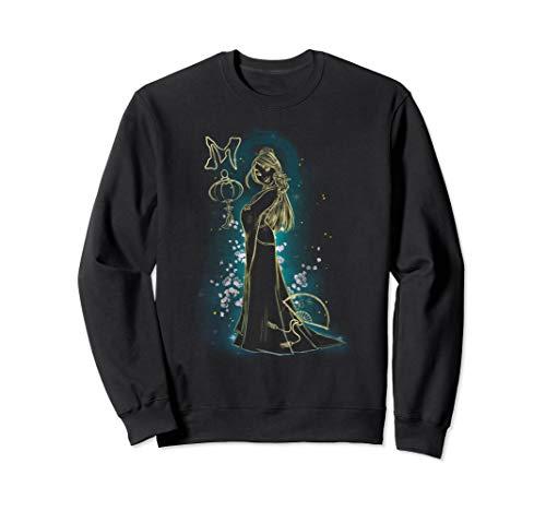 Disney Mulan Gold Floral Outline Glow Graphic Sweatshirt