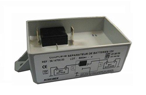 Repartidor carga electrica batería 12v-40a Scheiber