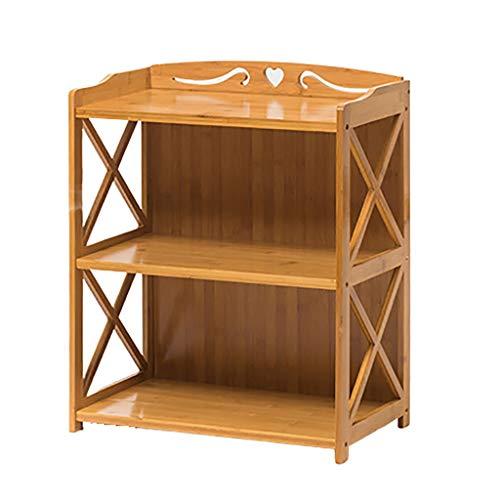 XUEZHEN boekenkast voor kinderen van bamboe, vloerentudio voor het platform van kinderfoto's, layer-design, gebruikt in de slaapkamer, woonkamer,