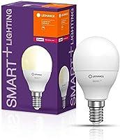 LEDVANCE Lampa LED | Trzonek: E14 | Ciepły biały | 2700 K | 5 W | SMART+ Mini bulb Dimmable [Klasa efektywności...
