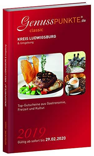 Gutscheinbuch GenussPUNKTE Kreis Ludwigsburg & Umgebung 2019 - gültig ab sofort bis 29.02.2020