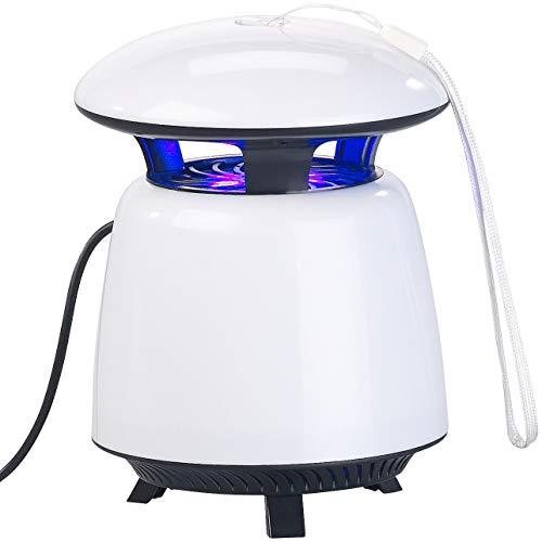 EXBUSTER Eliminador de Insectos UV con Ventilador de succión y Funcionamiento por USB, hasta 25 m²