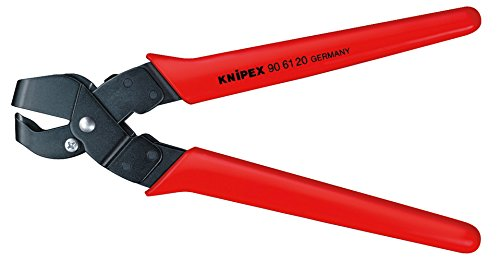 KNIPEX 90 61 20 Ausklinkzange brüniert mit Kunststoff-Hüllen 250 mm