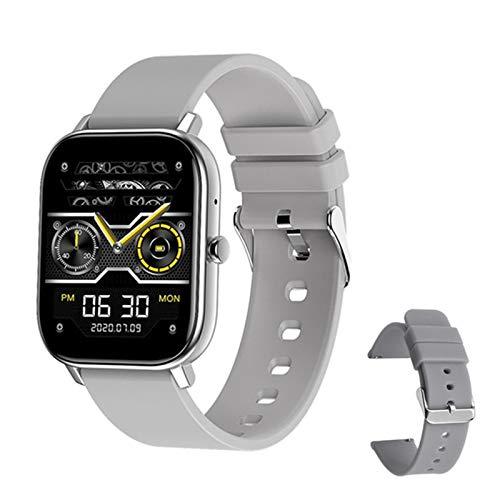 YWS GW22 Smart Watch Es Adecuado para Los Hombres De iOS De Android 1,6 Pulgadas De 1,6 Pulgadas De Punta Completa Monitor De Ritmo Cardíaco Bluetooth Llamada Mujer Smartwatch,A