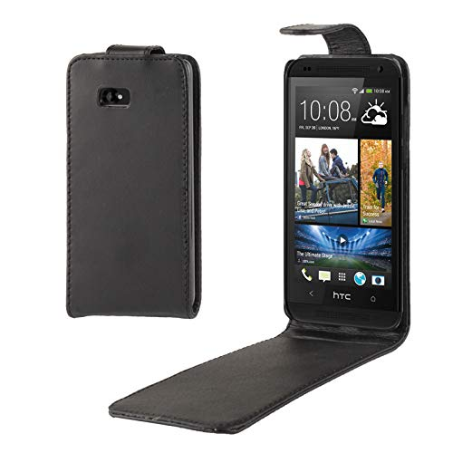 ZAORUN Cubiertas Protectoras de Cellphone Funda de Cuero con Tapa Vertical Compatible for HTC Desire 600