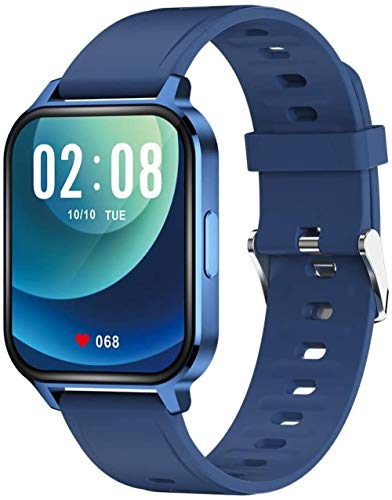Smart Watch Fitness Tracker 1.69 Touch con pulsómetro, impermeable IP68, reloj inteligente para hombres y mujeres, para Android IOS C