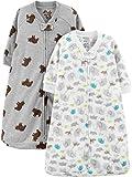Simple Joys by Carter's Baby 2-Pack Microfleece Long-Sleeve Sleepbag,...