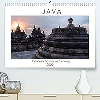 Java, Indonesische Insel im Feuerring (Premium, hochwertiger DIN A2 Wandkalender 2022, Kunstdruck in Hochglanz): Eine fotografische Rundreise durch die faszinierende Welt der Indonesischen Insel Java mit Tempeln, wilden Kuesten und aktiven Vulkanen. (Monatskalender, 14 Seiten )