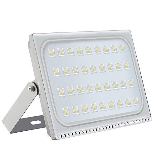 Foco proyector LED 200W para exteriores, resistente al agua IP65, luz de seguridad,Diseño ultraligero ultrafino