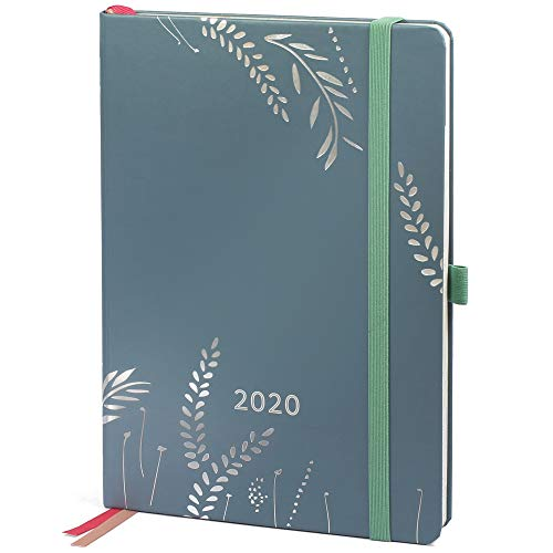 Boxclever Press Everyday Diary 2020. Beautiful 2020 Diary A5 Week to View Runs Jan to Dec '20. Full Colour Pages, to-do-Lists & Weekly Goals. Monthly Overview, Budget Section, Space for Notes.