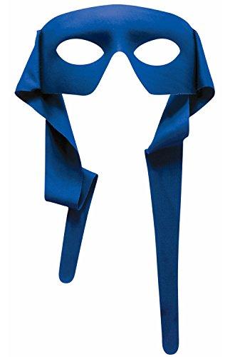Forum Novelties Mysterious Blue Eye Men Mask with Tie
