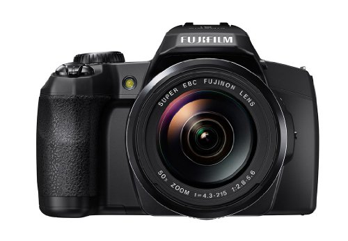 Fujifilm FinePix S1 Kompaktkamera (Full HD, 16 Megapixel, 7,6 cm (3 Zoll) Display, 50-fach opt. Zoom, WiFi) schwarz