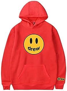 Hip Hop Winter Drew Hoodies Men Women Smile Printed Justin Bieber Hoodedis Sweatshirts