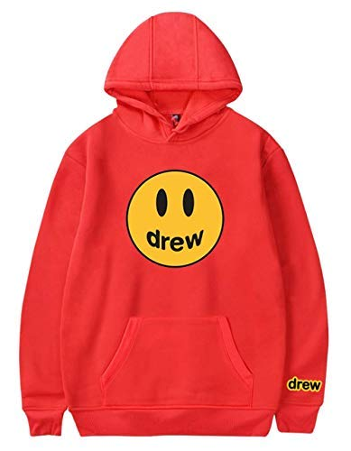 WAWNI Hip Hop Winter Drew Hoodies Men Women Smile Printed Justin Bieber Hoodedis Sweatshirts