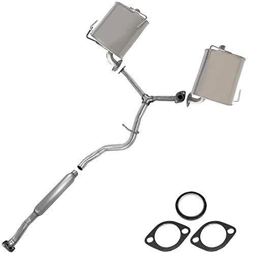 Resonator Pipe Muffler Exhaust System fits: 2009-13 Forester 08-11 Impreza 2.5L