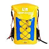 LD Shop Bolsa De Viaje Estanca Mochila Impermeable 30L para Kayak, Playa, Deportes, Rafting, Acampada Y Pesca,Amarillo