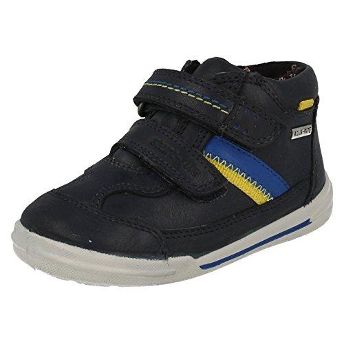 Start-rite , Sandales Compensées garçon - - Navy (Blue), 22 F EU