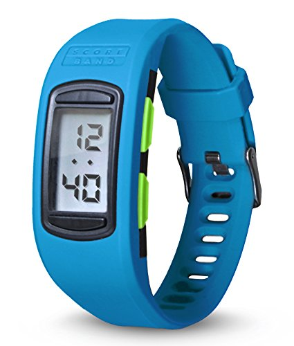 ScoreBand Play Multisport Digital Score Tracking Watch, Blue, Four modes including scorekeeper for Golf, Tennis, Disc Golf, Pickleball and many other sports one size fits all