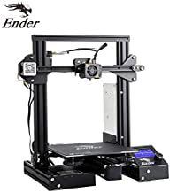 Pujua Creality 3D Pinter Ender 3 Pro with Resume Printing Function and Meanwell Power Supply,Easy Removable Upgrade Cmagnet Build Surface Plate