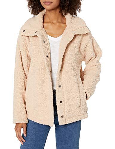 Billabong Women's Cozy Days Sherpa Jacket White Small/8
