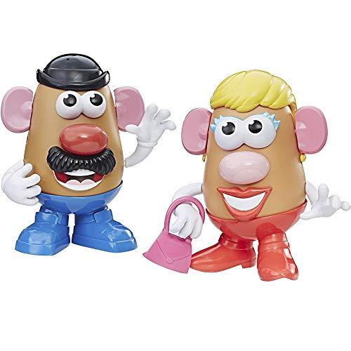 Playskool Mr Potato Head and Mrs Potato Head Bundle of 2 Complete Spud Characters