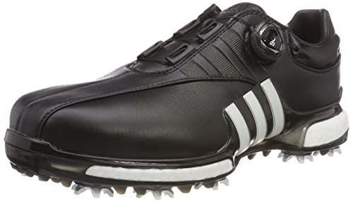 adidas Herren Tour360 EQT Boa Golfschuhe, Schwarz Blanco/Negro F33621, 42 2/3 EU