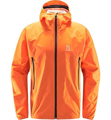 Haglöfs L.I.M PROOF Multi Chaqueta, 4N8-Flame Orange, M Hombre