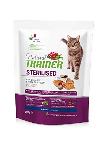 Trainer Natural Cat Sterilized Lachs 300g Trainer, 1,5 kg, Katzen