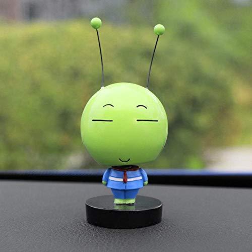 MnbvcxzeyKopf schüttelnde Insekten Puppe niedlich Cartoon Auto Interior dekorative Antenne Insekten Ornamente Zubehör Geschenk, verloren