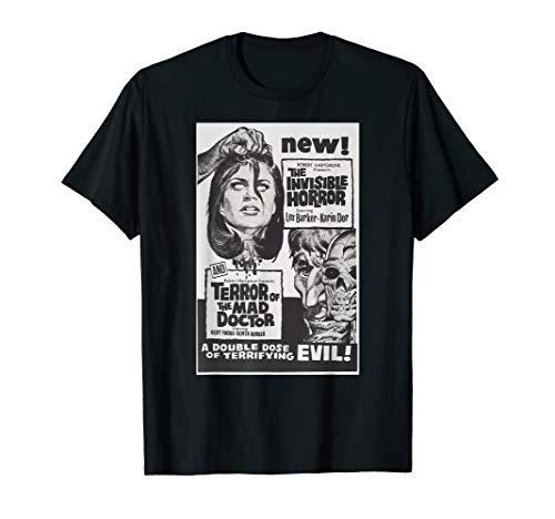 Horror Terror Classic Halloween Monster Poster Horror Movie T-Shirt