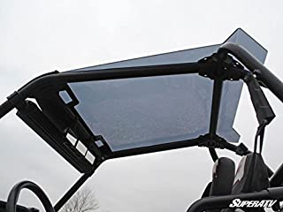 SuperATV Dark Tinted Roof With Spoiler for Polaris RZR XP 1000 / S 1000 (2014+) - Easy to Install!