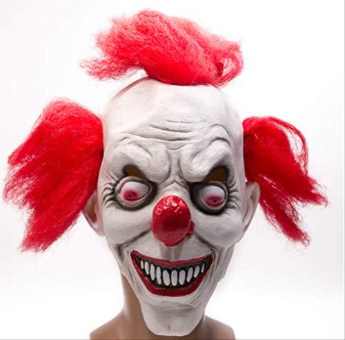 tytlmask Scary Clown Mask, Payday Party Mask, Silicone Vrouwelijke Maskers Mascara, Voor Mannen Masquerad Carnaval Halloween Party, Past bij de meeste volwassenen