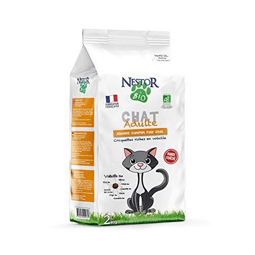 Nestor Bio - Croquettes Bio pour Chat - 2kg