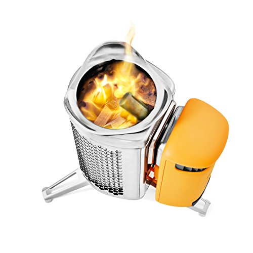 BioLite Campstove 2 Wood Burning Electricity Generating & USB...