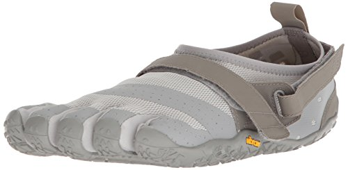 Vibram Fivefingers V-Aqua, Zapatillas Impermeables Hombre, Gris (Grey Grey), 42 EU