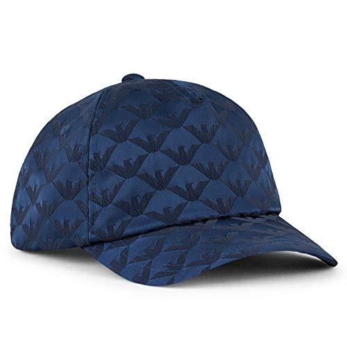 Emporio Armani Gorra de béisbol Azul Marino Jaquard 627503 0P551