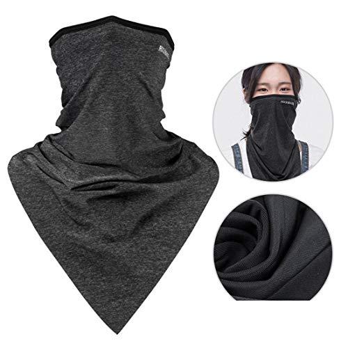 Summer Bandanas halsbescherming vissen sjaal hoofddoek, bescherming tegen de zon, UV-bescherming, stof nek bescherming, fietsen, hardlopen, cool te voet
