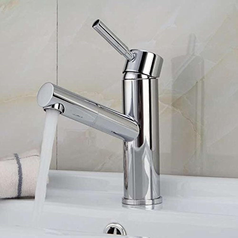 Makej Tap Water Faucet Single Hole Bathroom Faucet