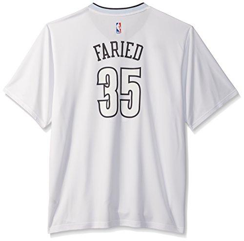 adidas NBA Denver Nuggets Kenneth Faried # 35da Uomo, da Uomo, Uomo, Pride, Pride