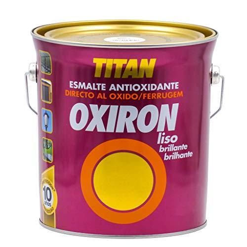 Titan Oxiron Liso Brillante 4L - 4 L, 4549 Gris Medio