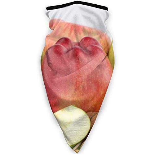 Bjamaj, maschera per il viso e la bocca al miele di noce e frutta, antivento, maschera sportiva da sci, sciarpa, bandana, uomo e donna