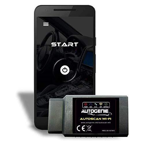 Autogenie ECHTZEIT-Daten & Fehler lesen & Löschen iPhone & Android WiFi OBD2 - GTÜ GEPRÜFT - Diagnose und Codieren am Kfz Auto über Smartphone & PC
