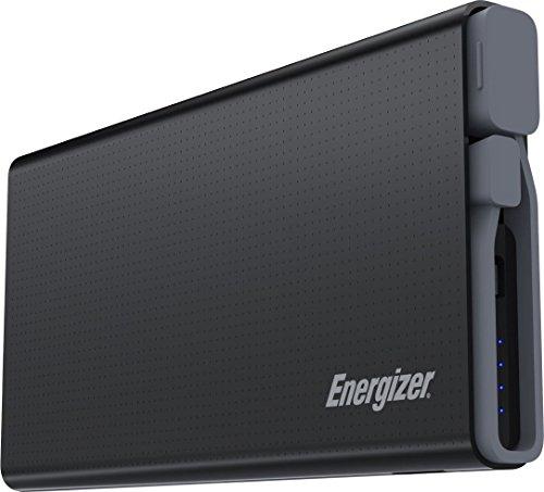 Energizer Powerbank 10000mAh Externer Akku, kompaktes Powerpack mit 2-Ports für Apple iPhone 11 / 11 Pro / 11 Pro Max / Xs / Xs Max / Xr, Huawei Mate 20 Pro / P20 Pro uvm
