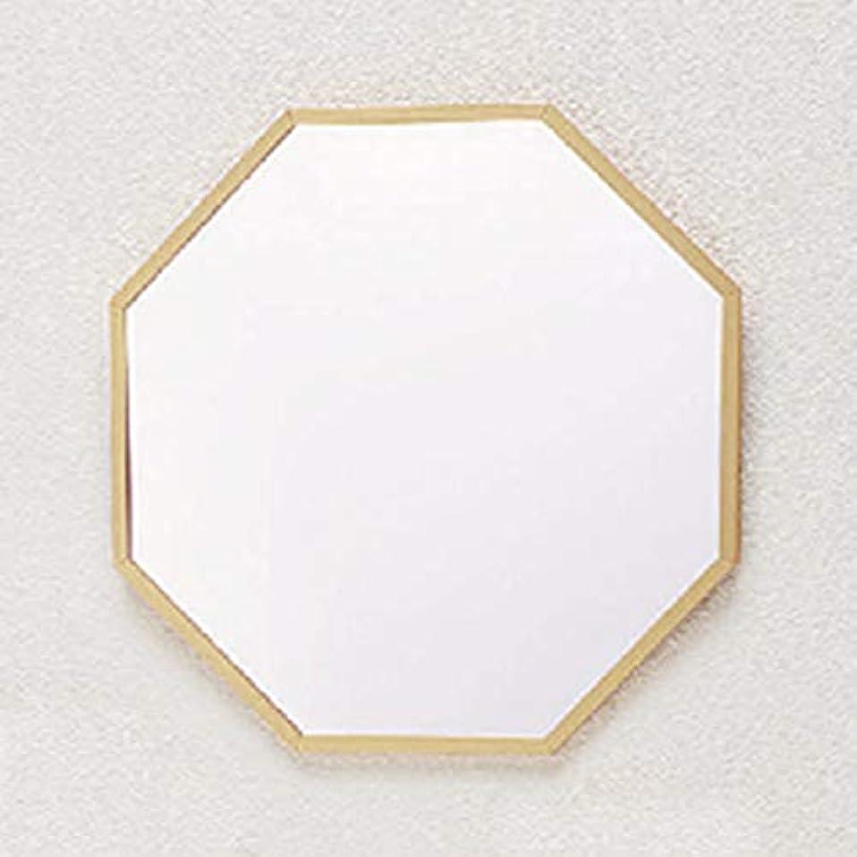 自動化受け取るストレッチパラデック Octam 八角形 ウォールミラー L ゴールド OCM-37