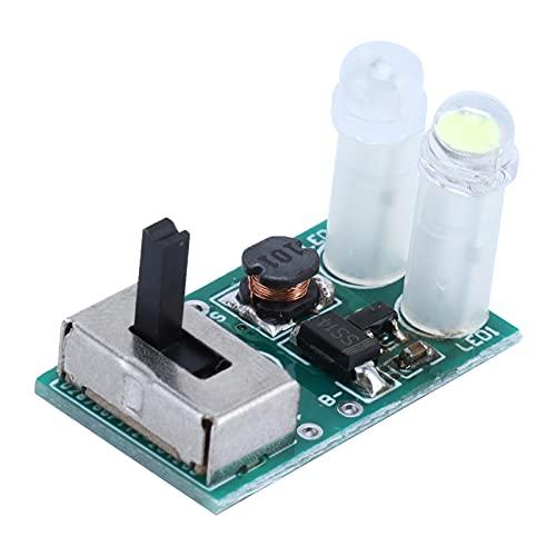 Gedourain Solar-Lampen-Controller, Ladeschutz Solar-Power-Controller-Modul NI-MH-Akku für Solar-Rasenlichtsteuerung