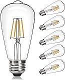 Edison LED Light Bulbs,4W,Vintage LED Edison Bulb...