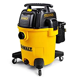 DEWALT 12 Gallon Poly Wet/Dry Vac, Yellow