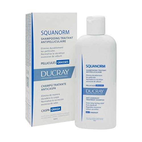 Pierre Fabre Ducray Squanorm Champú anticaspa seco, 200 ml